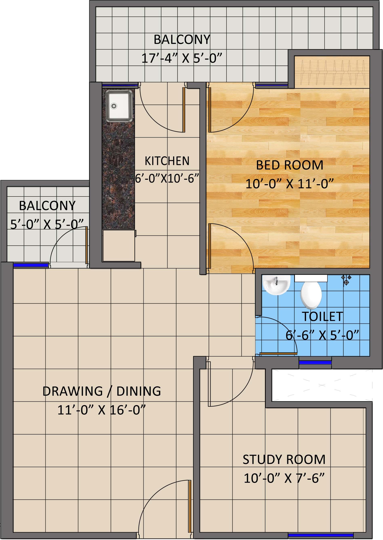 https://www.kwgroup.in/upload/170420105049Plan-Tower-A,-1-BHK-+-Study,-875-sqft.jpg
