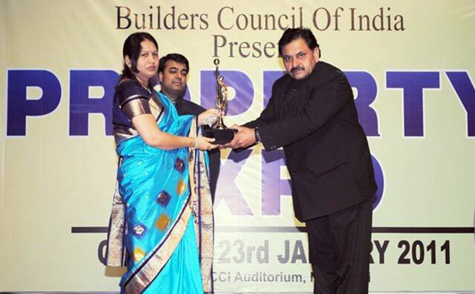 KW Group Awarded by Builder Council of India for