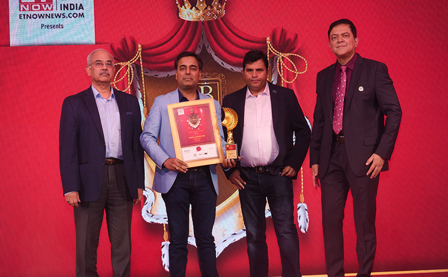 "KW Group Awarded for Business Leadership by ""ET Now 2020, Mumbai"""