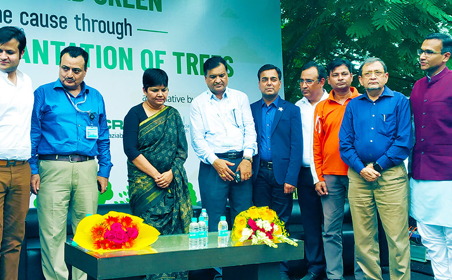 """KW Group Participated in """"Plantation with Vice Chairman of GDA 2019, Ghaziabad"""""""